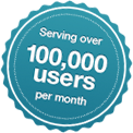 Conference Calls Unlimited 100k users badge